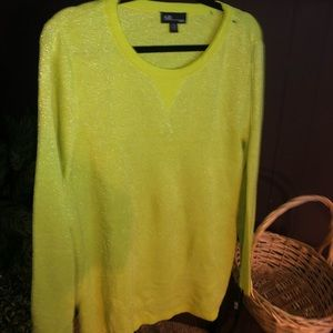 AGB Lime Green Sweater NWT